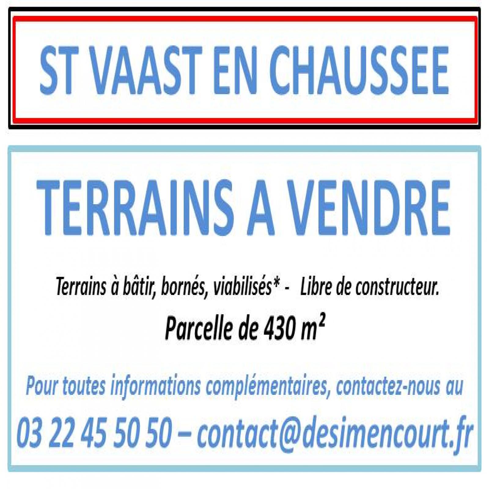 Image_, Terrain, Saint-Vaast-en-Chaussée, ref :stvaast