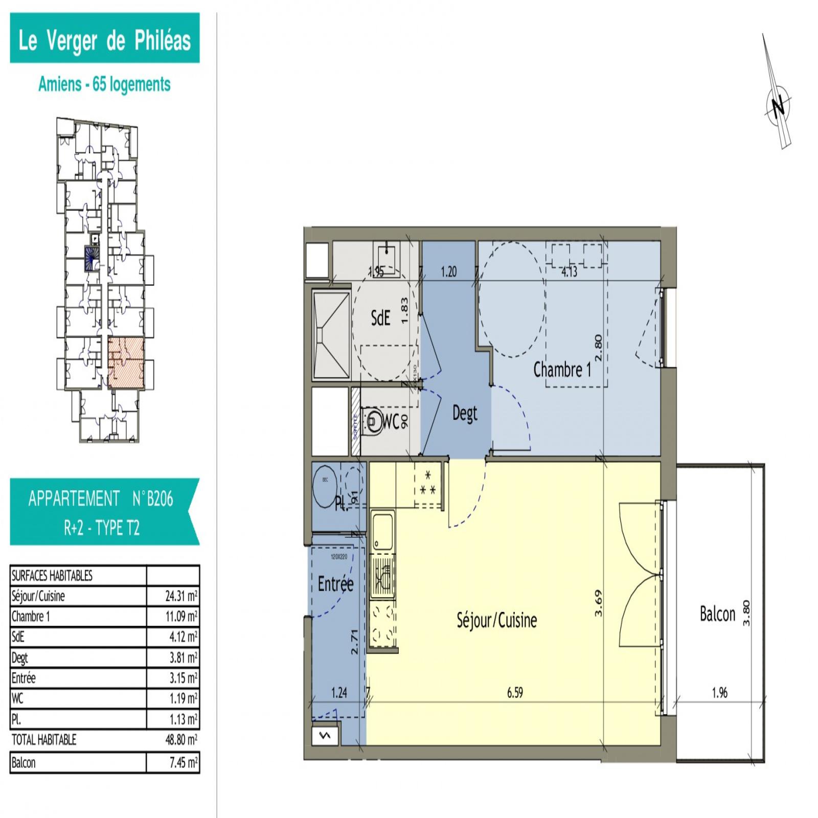 Image_4, Appartement, Amiens, ref :PHILEAS
