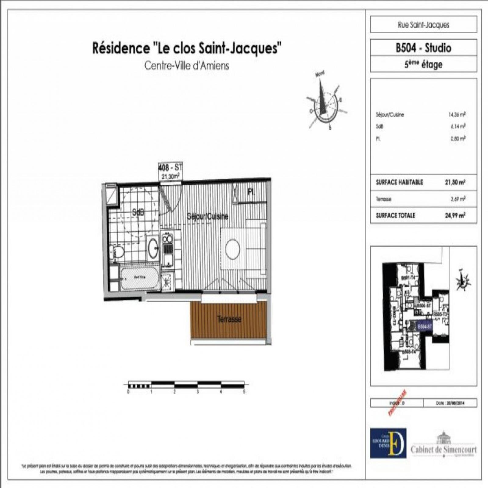Image_2, Appartement, Amiens, ref :455
