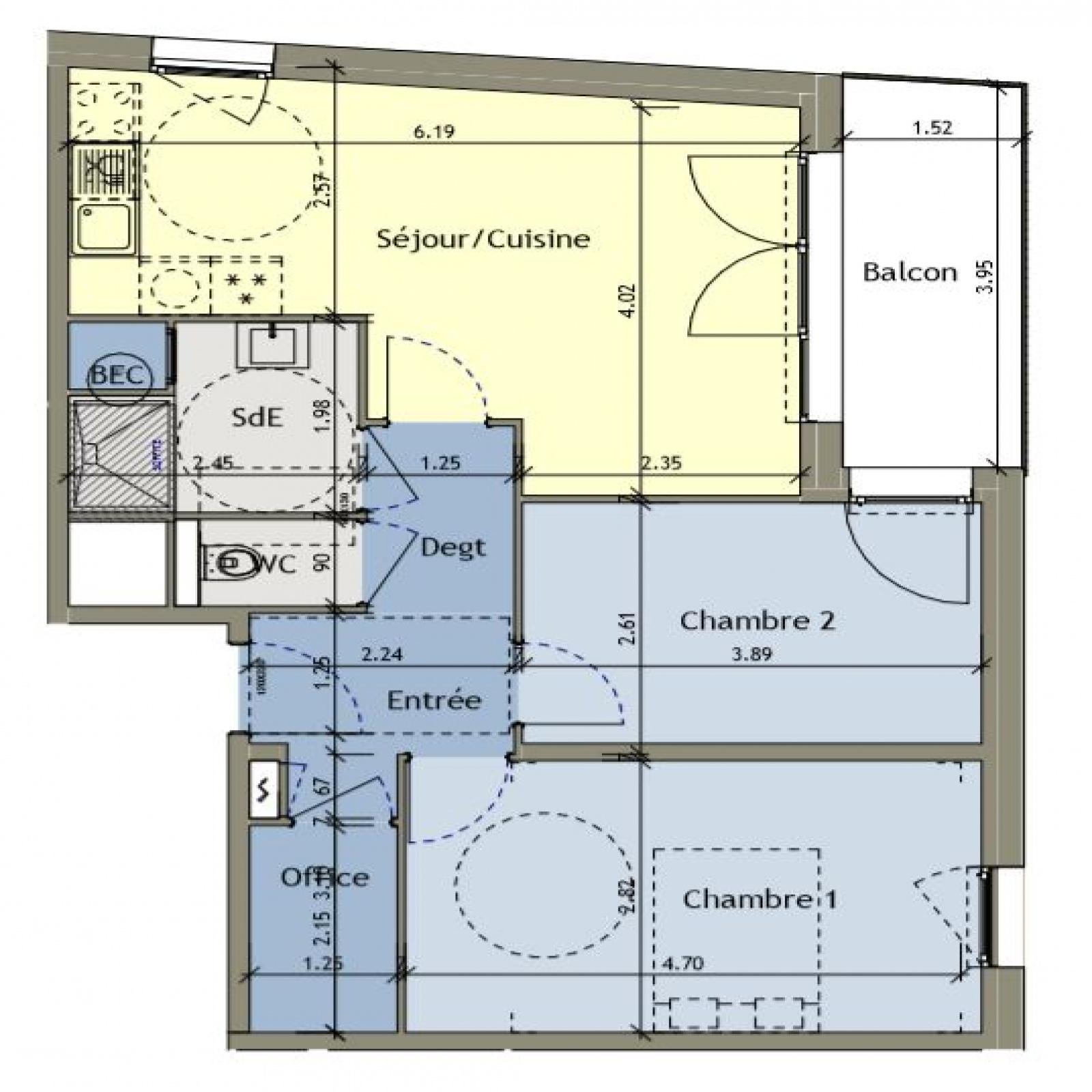Image_3, Appartement, Amiens, ref :2188